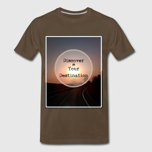 Discover you Destination. - Men's Premium T-Shirt