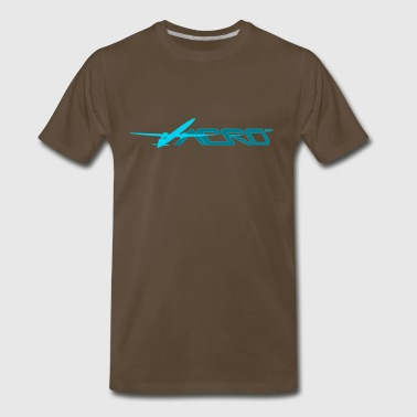 Aero_SP_BL - Men's Premium T-Shirt