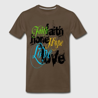faith_hope_love - Men's Premium T-Shirt