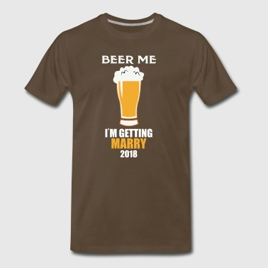 Getting Marry Tshirt Bachelorette Party Design - Men's Premium T-Shirt