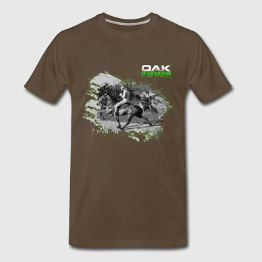 Speed Racking Horse World - Men's Premium T-Shirt