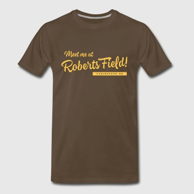 Vintage Meet Me at Roberts Field - Men's Premium T-Shirt