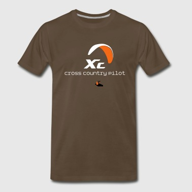 Paraglider Cross Country - Men's Premium T-Shirt