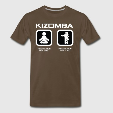 Kizomba Meditation For One Meditation For Two - Men's Premium T-Shirt