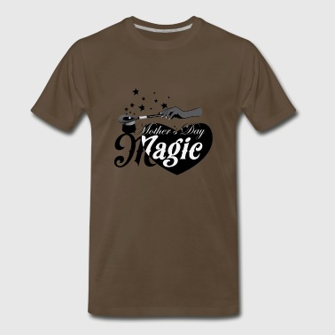African American Mother's Day Magic (Black Star) - Men's Premium T-Shirt