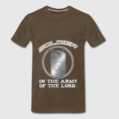 SOLDIERS TILL DEATH OR TRANSLATION - Men's Premium T-Shirt