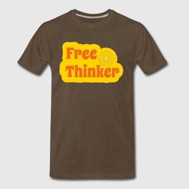 Free Thinker - Men's Premium T-Shirt
