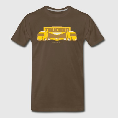 Trucker Fellowship - Men's Premium T-Shirt