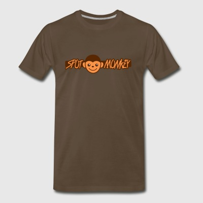 spot monkey - Men's Premium T-Shirt