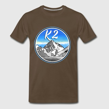 k2 Mountains - Men's Premium T-Shirt