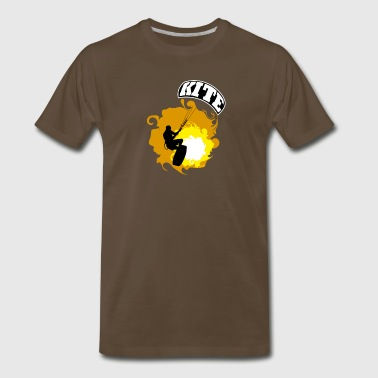 Kitesurf_02 - Men's Premium T-Shirt