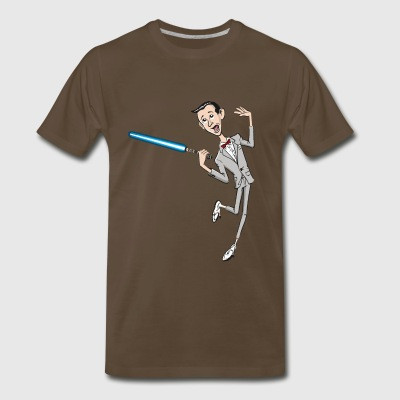 La La La Lightsaber - Men's Premium T-Shirt