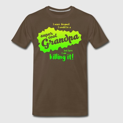 Super Cool Grandpa - Men's Premium T-Shirt