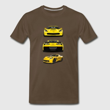 CORVETTE C7 - Men's Premium T-Shirt