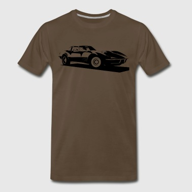 CORVETTE C3 STINGRAY - Men's Premium T-Shirt