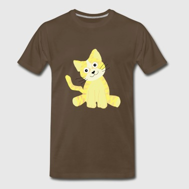 cute kitty - Men's Premium T-Shirt