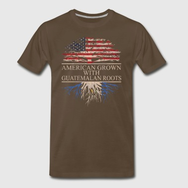 American grown with guatemalan roots - Men's Premium T-Shirt