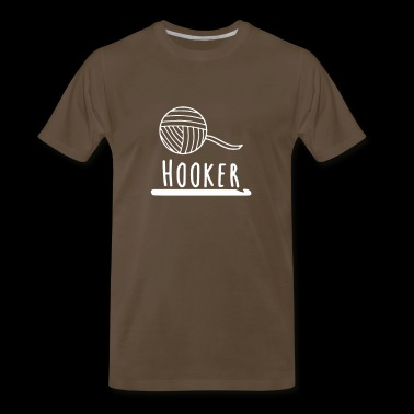Hooker Crochet - Men's Premium T-Shirt