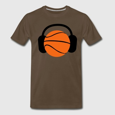 DJ Basketball head ! ipod sports ! - Men's Premium T-Shirt