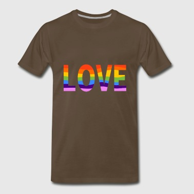 LGBT Pride Rainbow - Men's Premium T-Shirt