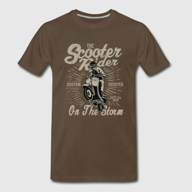 Scooter Rider - Men's Premium T-Shirt