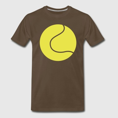 TENNIS wimbledon BALL simple - Men's Premium T-Shirt