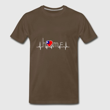 i love home heimat Taiwan - Men's Premium T-Shirt