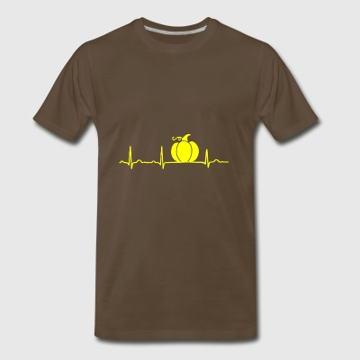GIFT - ECG PUMPKIN YELLOW - Men's Premium T-Shirt