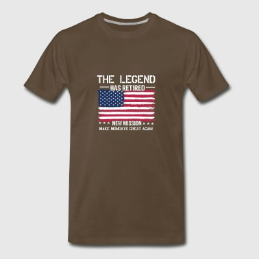 Retired Legend - Men's Premium T-Shirt