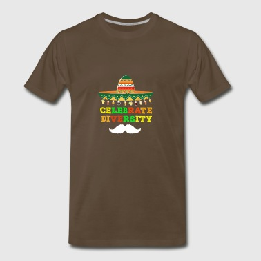 Celebrate Diversity Cinco De Mayo - Men's Premium T-Shirt