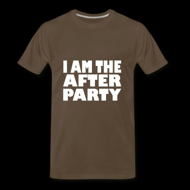 i am the after party - Men's Premium T-Shirt
