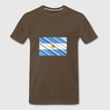 argentina flag - Men's Premium T-Shirt