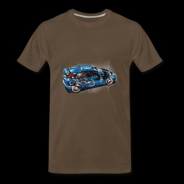 ford rally - Men's Premium T-Shirt