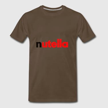 nutella cute - Men's Premium T-Shirt