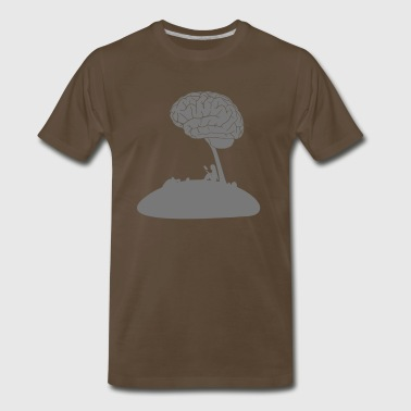 Ever spend the time to think about your thoughts? - Men's Premium T-Shirt