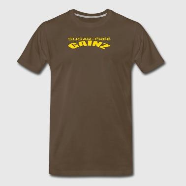 Shop sugar free underwear gifts online spreadshirt sugar free gainz men39s premium negle Gallery
