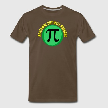 PI Day for math lovers and teachers - Men's Premium T-Shirt