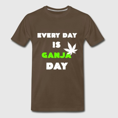 Every Day is Ganja Day Cannabisleaf Souvenir Gifts - Men's Premium T-Shirt