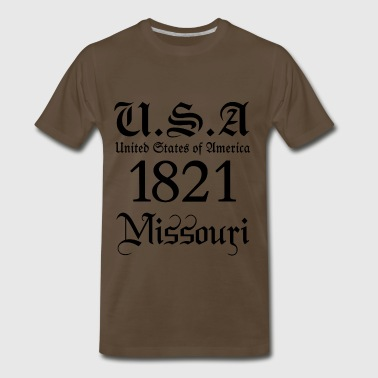 Missouri,United States of America, USA, United, US - Men's Premium T-Shirt