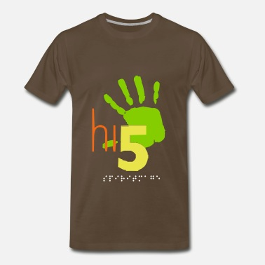 Hi5 HI5 high-five - Men's Premium T-Shirt