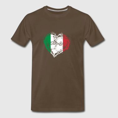 HOME ROOTS COUNTRY GIFT LOVE Italy - Men's Premium T-Shirt