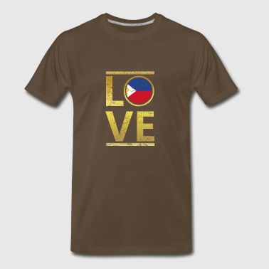 roots love home geschenk queen Philippinen - Men's Premium T-Shirt