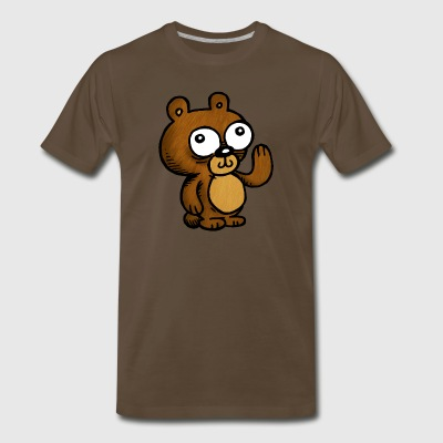 Hello Bear - Men's Premium T-Shirt