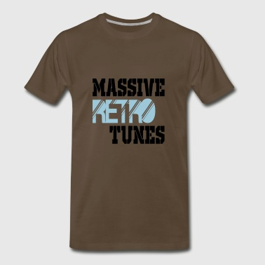 massive retro tunes - Men's Premium T-Shirt
