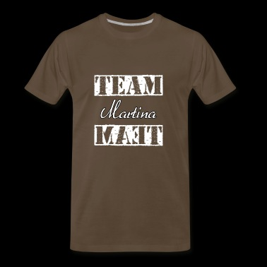 Team Martina - Men's Premium T-Shirt