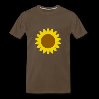 sunflower sonnenblume flowers blumen - Men's Premium T-Shirt