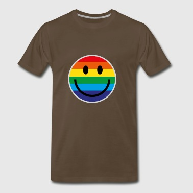 RAINBOW SMILE - Men's Premium T-Shirt