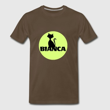 Bianca name first name - Men's Premium T-Shirt