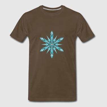 CRYSTAL SNOWFLAKE - Men's Premium T-Shirt