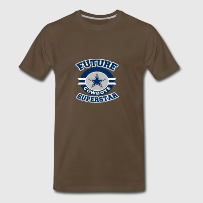 Future Cowboy Superstar Funny Texas Team Fan Tee - Men's Premium T-Shirt